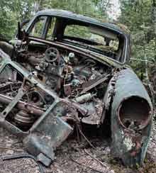 Vintage Car Graveyard (SWE)