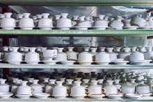 Shelf full Cups
