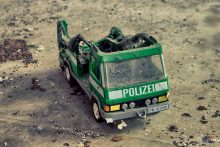 Burned Policecar