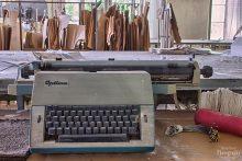Optima Schreibmaschine